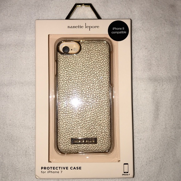 new arrivals cf605 c4fc8 Nanette Lepore gold iPhone 7/8 Case NWT NWT