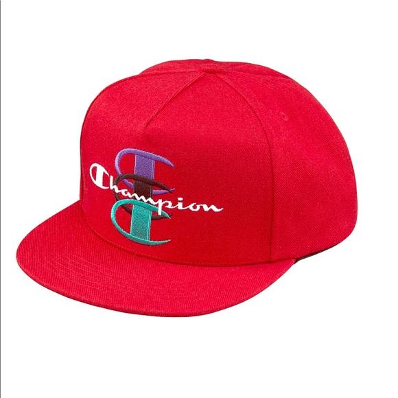 b974dbe022dd9 Supreme Champion hat red