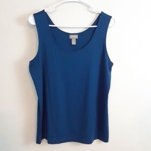 CHICO'S BLUE TANK TOP