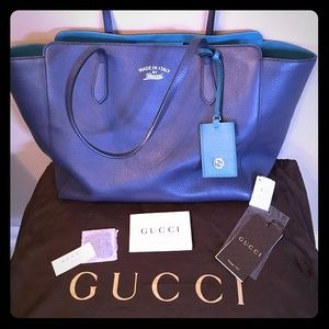Authentic Gucci Swing Tote Large