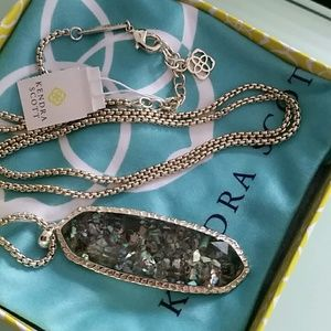 Kendra Scott Layden Crushed Abalone necklace