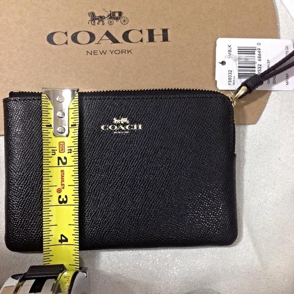 Coach Bags - Coach Black Wristlet-NWT Gift box