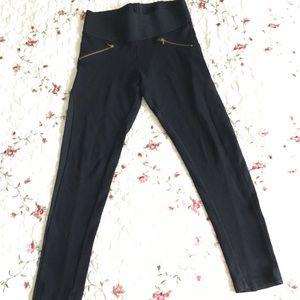Zara basic black leggings