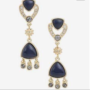 Jewelmint BIANCA Crystal Enamel Dangle Earrings