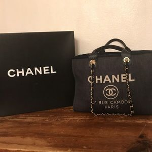 100% Authentic Chanel Deauville