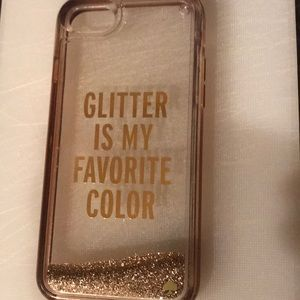 Kate Spade- glitter is my favorite color Case