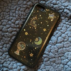 sparkly star iPhone 6/6s soft case
