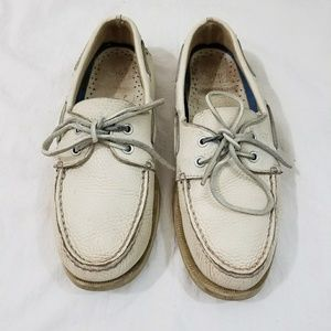 Men's Leather Sperry Top-Sider Boat Shoes