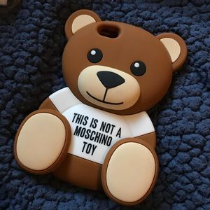 Moschino bear iPhone case for 6/6s