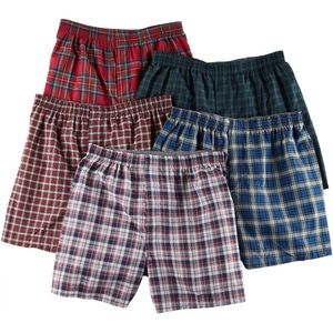 Hanes Tagless 5 pieces boxers L Msrp $39