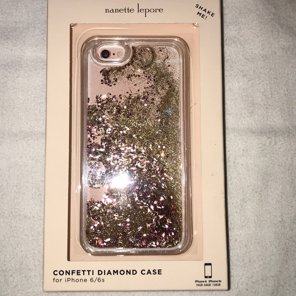 the latest ecc4e 8fee3 Nanette Lepore confetti diamond iPhone 6/6s Case NWT