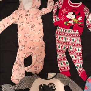 Other - Baby girl clothes name brand wear Disney, polo etc