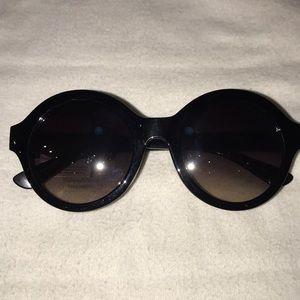Vera Wang round mirror lens sunglasses NWT