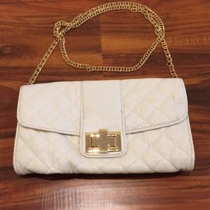 Aldo Quilted Patent Leather Convertible Crossbody