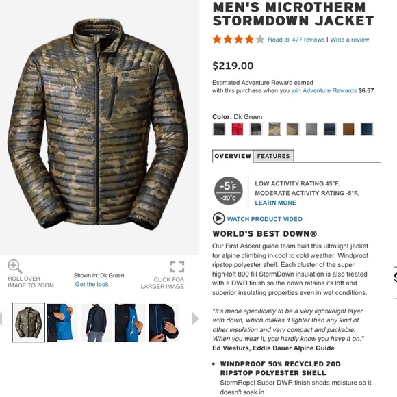 3454efc459bfc Eddie Bauer Jackets & Coats   Down Jacket   Poshmark