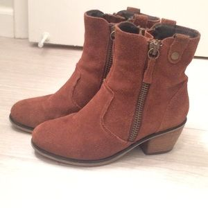 Leather Steve Madden Booties
