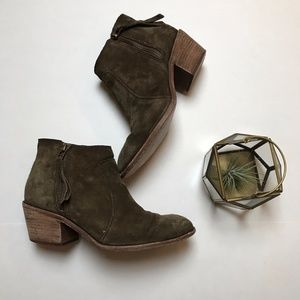 Madewell Janice Boot in Suede