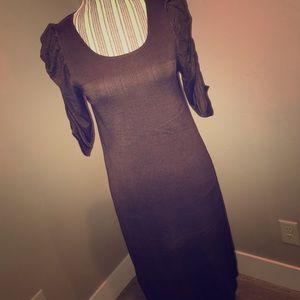 Max Studio Straight Light Sweater Dress