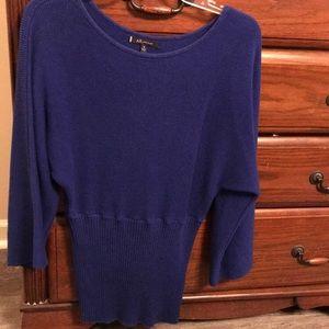 Anne Klein royal sweater medium
