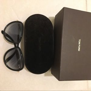 Tom Ford Black Sabrina sunglasses