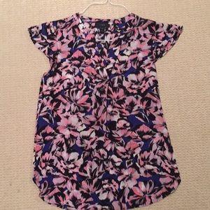 Never worn flower Jcrew blouse!
