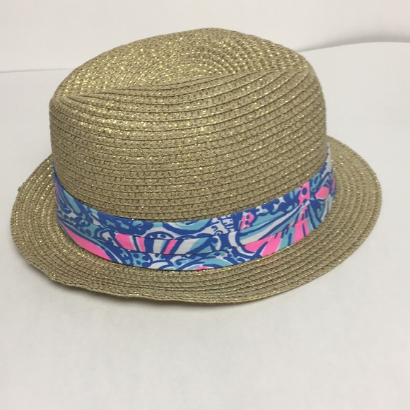 Lilly Pulitzer for Target Accessories - Lilly Pulitzer Fedora Hat a169efdca66