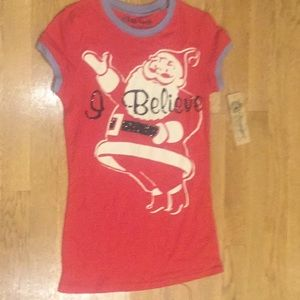 NWT Vintage wash tee shirt size S-great gift