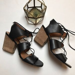 Madewell Rooney Lace-up Sandal
