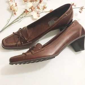 Naturalizer Blake Leather Heeled Shoes