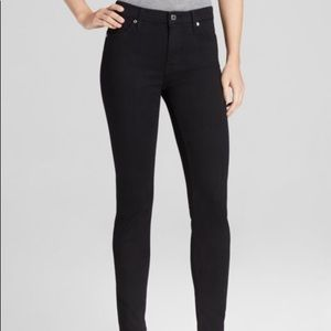 7 For All Mankind High rise Slim Illusion skinnies