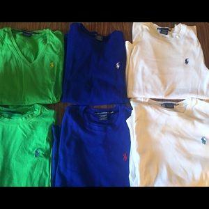 Ralph Lauren Sport Polo Long Sleeve Medium Bundle