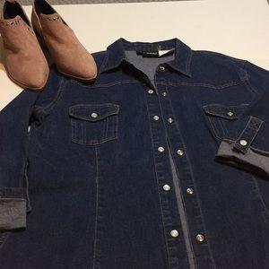 Denim jeans jacket EUROPA boutique