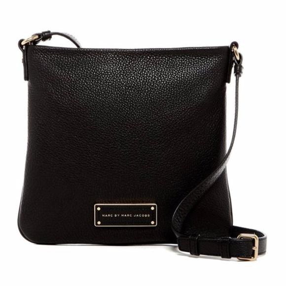 237369469f44a Marc Jacobs Sia Black Leather Crossbody Bag. M 5a10d7602fd0b73ead044afd