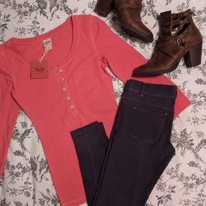 Mossimo Supply Co. Henley Shirt