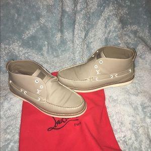 Louis vuitton boat shoes