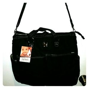 NWT Beautiful Carter's out n about diaper bag