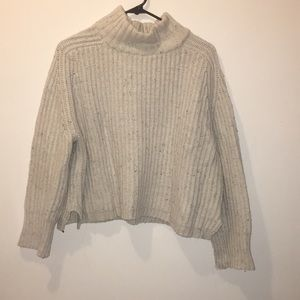 Cropped Urban Outfitters turtle neck sweater