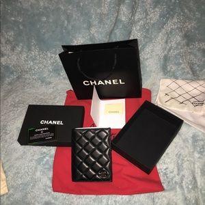 Chanel Stitch Leather passport holder