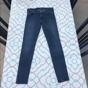 """💙👖7FAM The Skinny Jeans👖💙 26 1/2 29"""" GUC"""