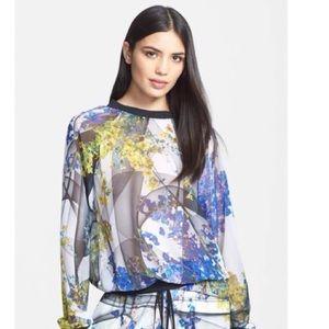 Space Garden Sheer Sweatshirt