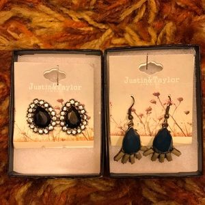 Justin and Taylor earrings