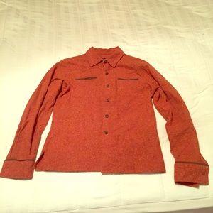 Women's patagonia wool button up