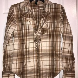 Ralph Lauren plaid flannel Shirt