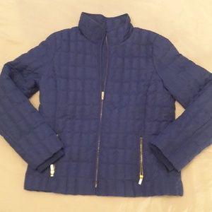 J. Crew waterproof down jacket