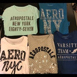 Aeropostale Girls Tee shirts.