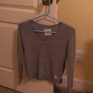 Abercrombie size medium sweater.  Super cute.