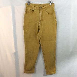 Vtg Colored Mom Jeans Size 11/12