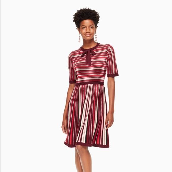 0c924a3c5ff2 kate spade Dresses   Skirts - Kate Spade Multi Stripe Sweater Dress