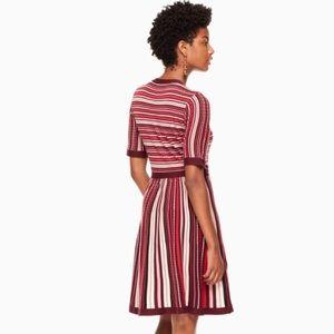7fd9e12cdb72 kate spade Dresses - Kate Spade Multi Stripe Sweater Dress
