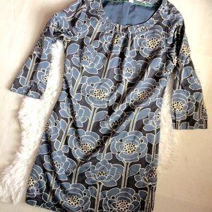 Boden blue floral dress